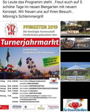 Pfingstmarkt zweibrücken 2020