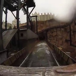 Chiapas Die Wasserbahn - Phantasialand Brühl (Onride) Video Wintertraum 2016 - YouTube