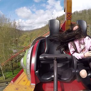Vicky The Ride (Onride) Video Plopsa Coo Stavelot 2018