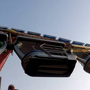 ENTERPRISE Ride/scary ride/high speed at 90 degree ride/essel world/mumbai/India