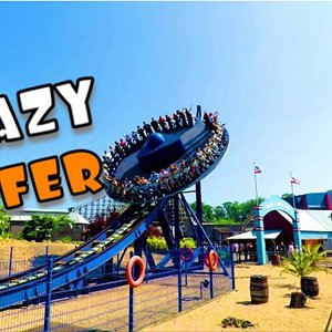 Crazy Surfer - Antonio Zamperla (Offride) Video Movie Park Germany 2018