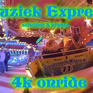 Rides Reviewer - Muziek Express (Scheider - Krause) 4k onride kirmes Euskirchen 2018