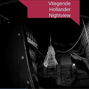 Onride Vliegende Hollander (Night view) (Kumbak) Efteling 2018