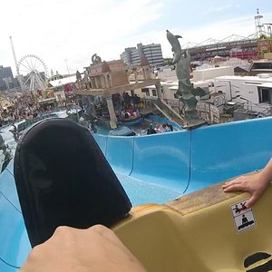"Atlantis Rafting On Ride,Coaster Freak ""88"""