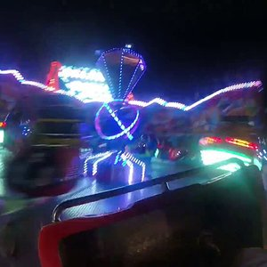 Break Dancer Rasch On Ride, Abends,Coaster Freak ´´179´´