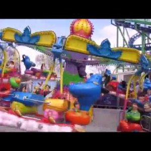 Kiddie Rides Funfair Kirmes Mix Video Special