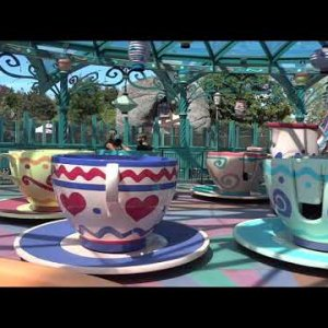 [Onride] Mad Hatter's Tea Cups | Disneyland Paris 2020