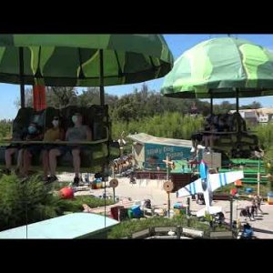 [Onride] Toy Soldiers Parachute Drop | Disneyland Paris 2020
