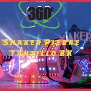 360 video Shaker Pierre Tantillo Septemberfoor (kermis) (kirmes) Hasselt 2020 ridesxl (8K video)