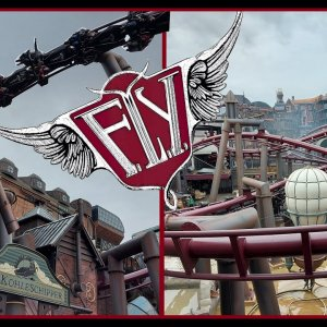 [NEUHEIT 2020] Themenwelt Rookburgh & Flying Launch Coaster F.L.Y. @Phantasialand