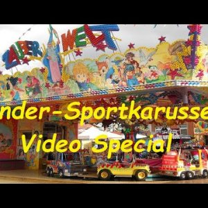 Kinder-Sportkarussell Video Mix