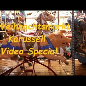Weihnachtsmarkt Kinderkarussell Christmas Special Video Mix